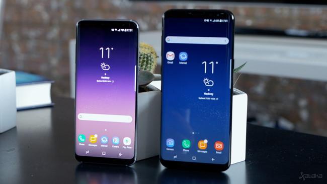 Galaxy S8+ y S8 normal
