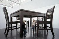 Decorando con muebles gigantes