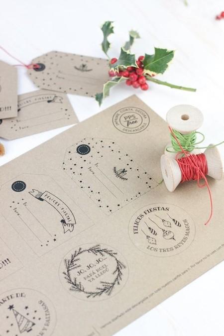 Imprimibles Navidad 14etiquetas