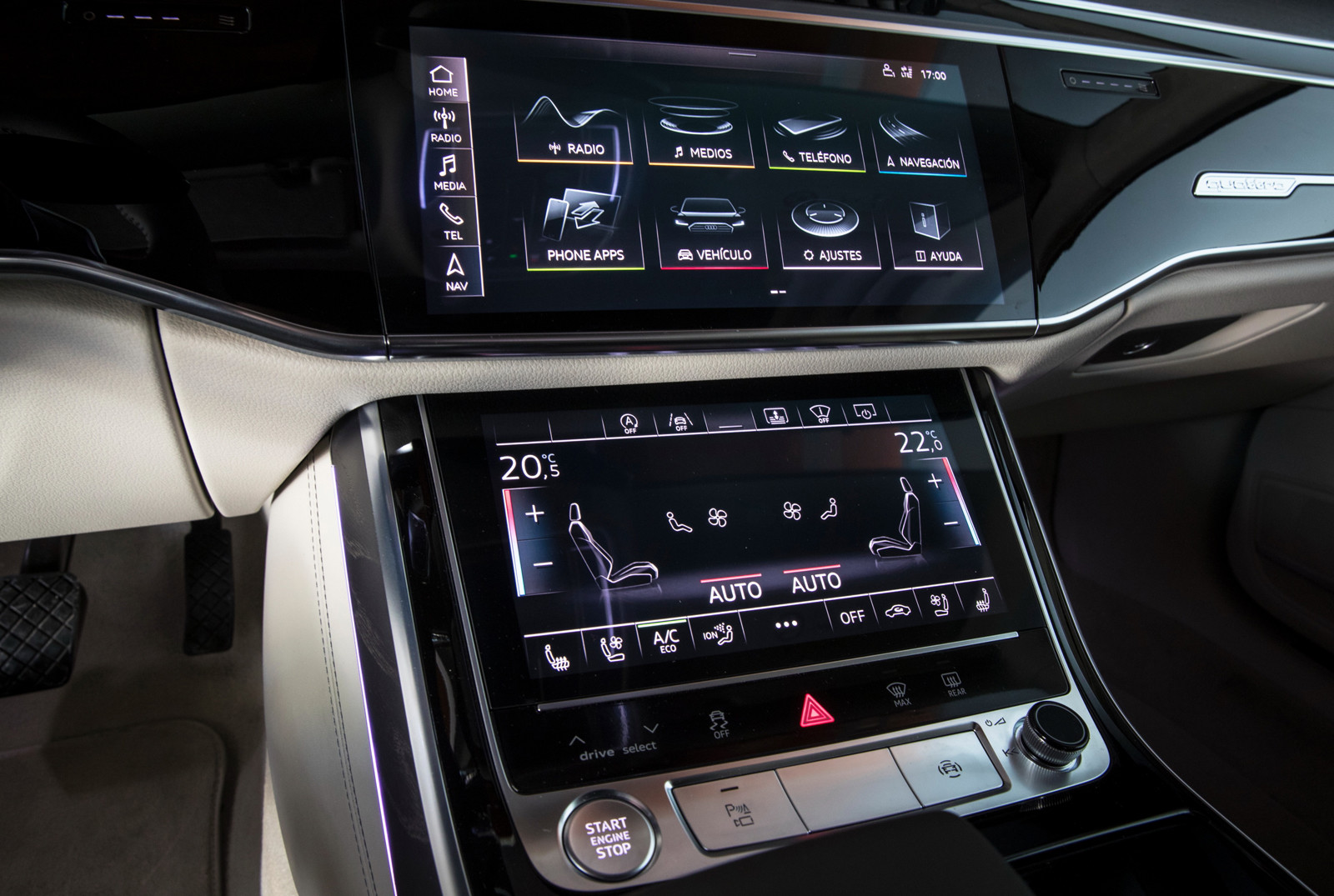 Foto de Audi A8 2018 (presentación) (24/81)