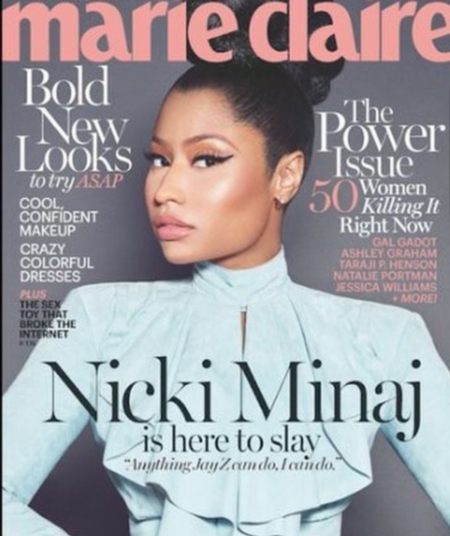 Marie Claire USA: Nicki Minaj