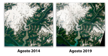 Glaciar Cambio
