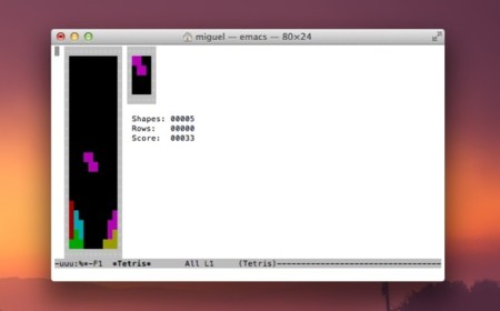 tetris terminal juego os x