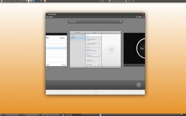 WebOS Desktop