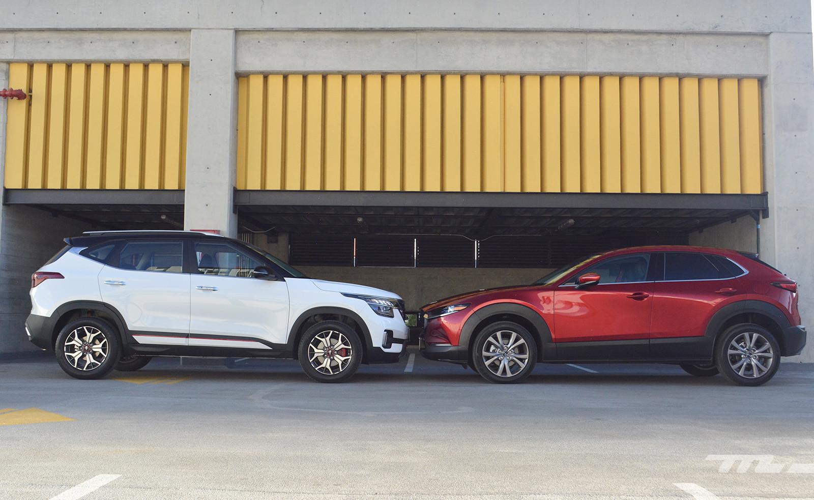 Foto de KIA Seltos vs. Mazda CX-30 (comparativa) (12/32)