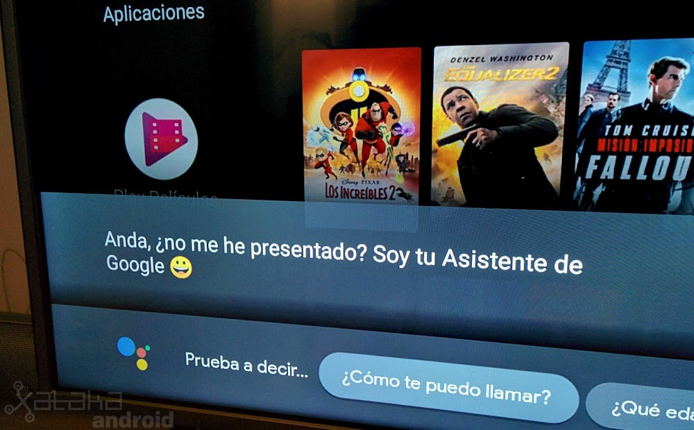 Android devices TV begins to receive the Wizard of Google in Spanish