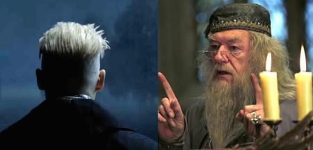 Grindelwald y Dumbledore