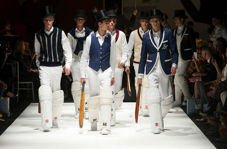 Hackett London SS 14  criquet