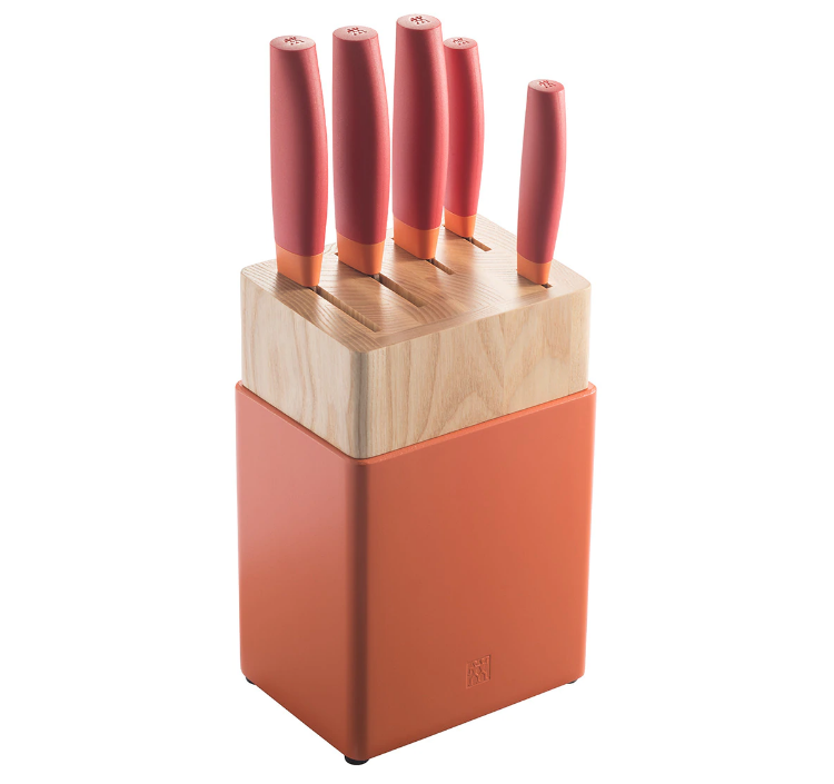 Taco de 5 cuchillos orientales Now Zwilling J.A. Henkels