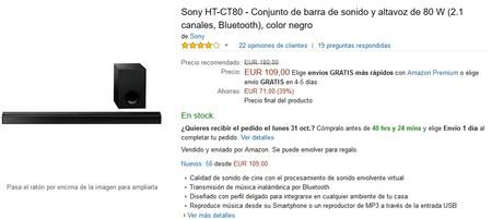 Sony Ht Ct80 Amazon