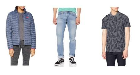 Ofertas de ropa en Amazon de marcas como The North Face, Levi's o Geographical Norway