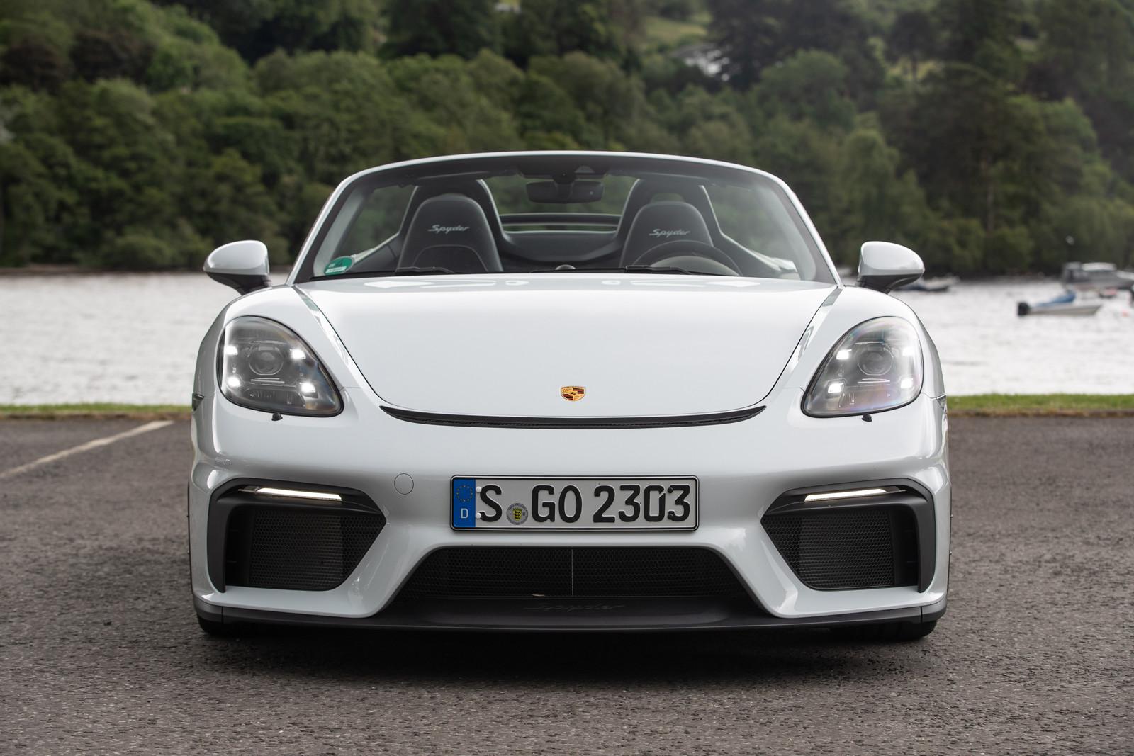 Foto de Porsche 718 Spyder (prueba contacto) (69/296)