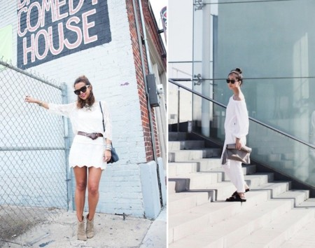outfits color blanco