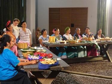 Primer Encuentro de Cocineras Tradicionales de Oaxaca y Tlaxcala