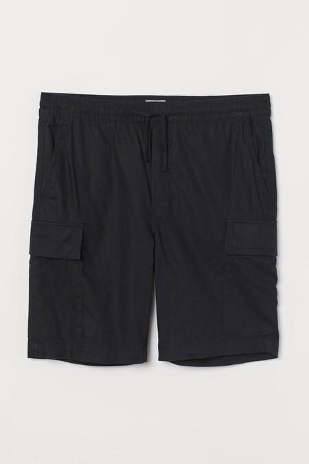 Pantalones Cortos Y Bermudas Rebajadisimos En H M Para Ir Llenando De Frescura Nuestro Armario De Primavera