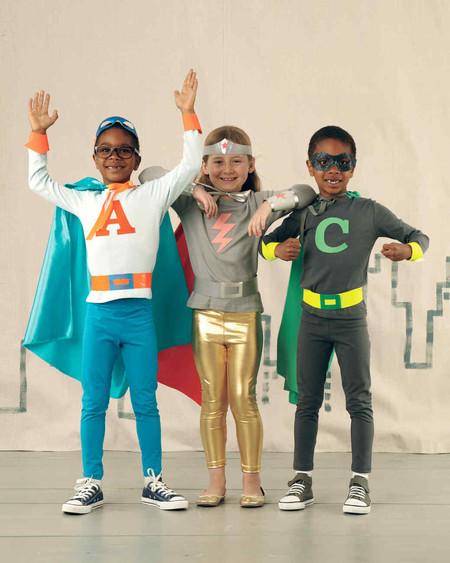 Disfraces Facil Barato Ninos Superheroes