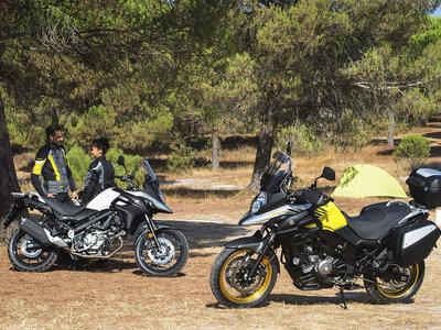 Convertirse en Vstromer ahora tiene premio con los 500 euros que te regala Suzuki