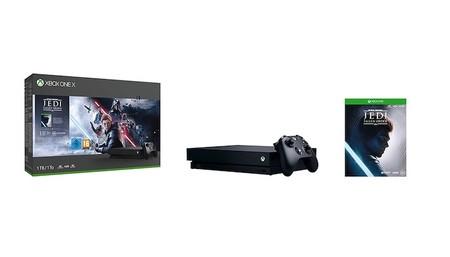 Xbox One X con el juego Star Wars Jedi: Fallen Order, más barata que en el Black Friday: 299,95 euros en Amazon