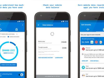 Triangle: gestiona el consumo de datos de forma individual para cada app, la última idea de Google