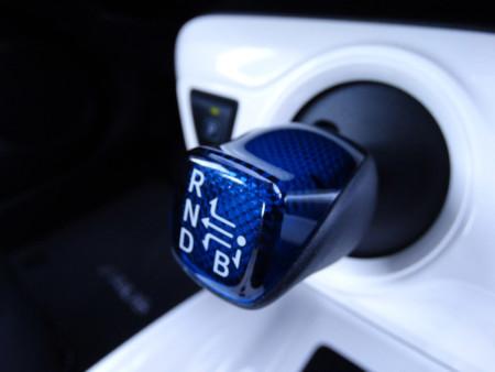 Transmisión Prueba Toyota Prius 2016 Detalles Interiores