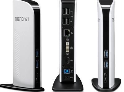 TRENDnet TU3-DS2, un dock con todo tipo de conexiones para tu portátil
