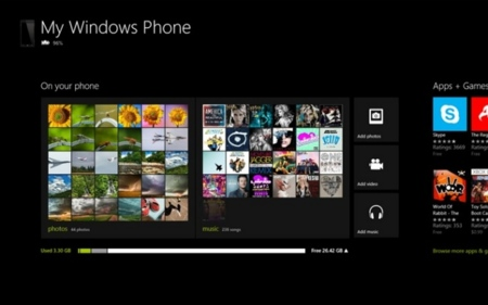 La aplicación para sincronizar Windows Phone 8 con Windows 8 ya está disponible en la tienda