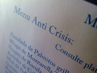 """Los escenarios de la crisis y sus """"cinco letras"""""""