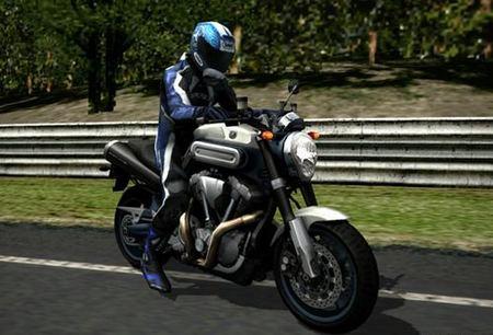 Probar las motos en la Play Station