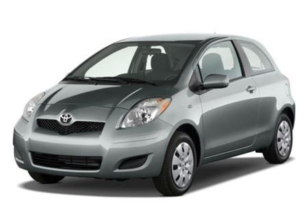 2009 Toyota Yaris Angularfront