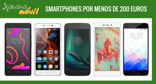 Moto G Play y Lenovo K5 frente a otros teléfonos por menos de 200 euros