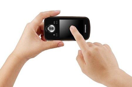 Samsung hmx-e10 en la mano