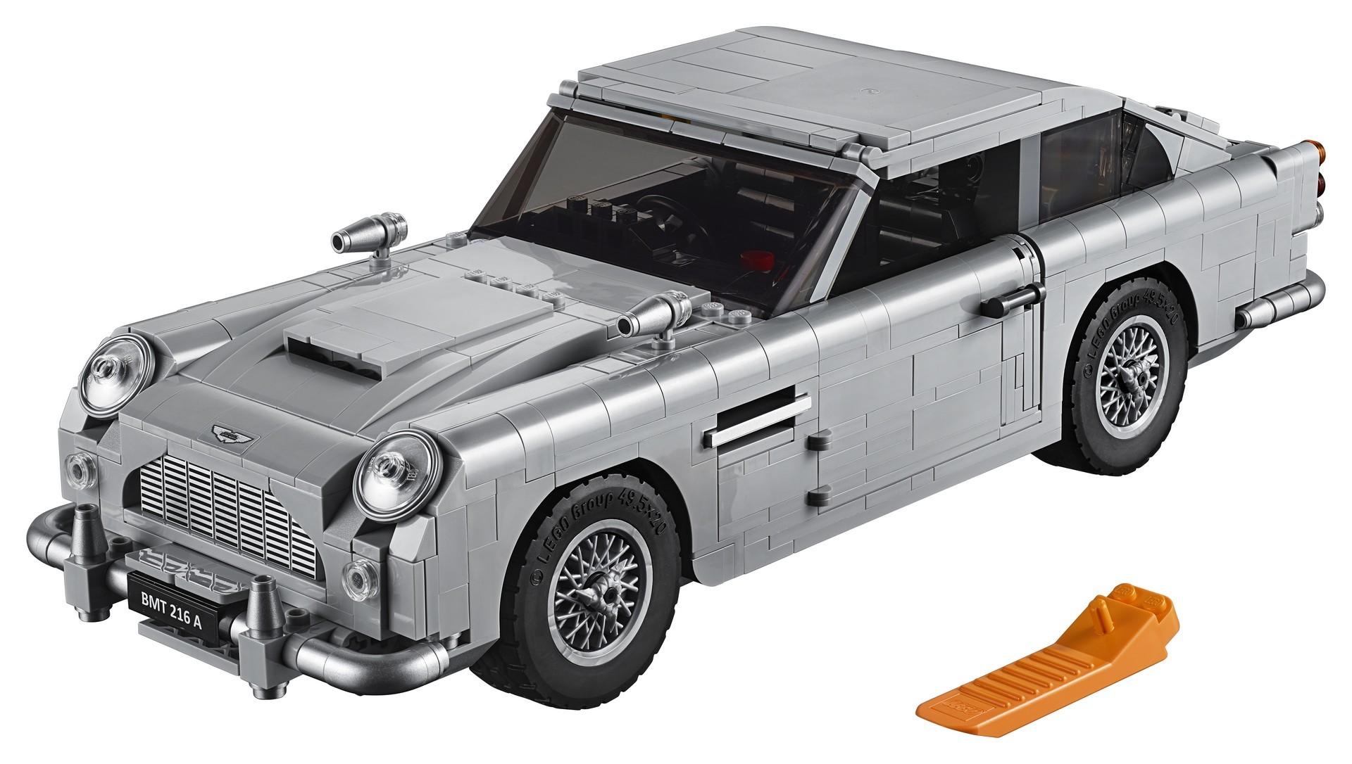 Foto de Aston Martin DB5 007 de LEGO (20/39)