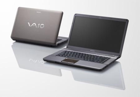 Sony Vaio NW-Series, con pantalla de 15 pulgadas