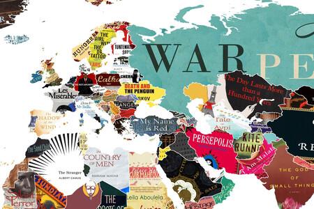 El libro más emblemático de cada país del mundo, en un detalladísimo mapa