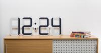 Tinta electrónica para impresionar con este reloj de pared