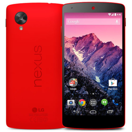 Nexus 5 en color rojo brillante ya a la venta en Google Play