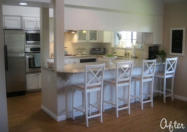 Antes y después modernizando una cocina de los 80