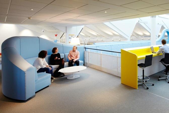 Foto de Espacios para trabajar: las renovadas oficinas de Lego (3/14)