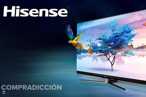 Semana Hisense en Amazon: estas 7 smart TVs de 40, 43, 55 y 65 pulgadas están superrebajadas