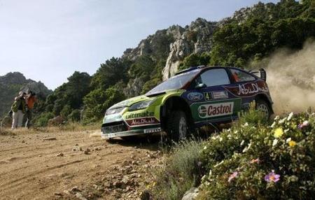 Jari-Matti Latvala termina el día como líder