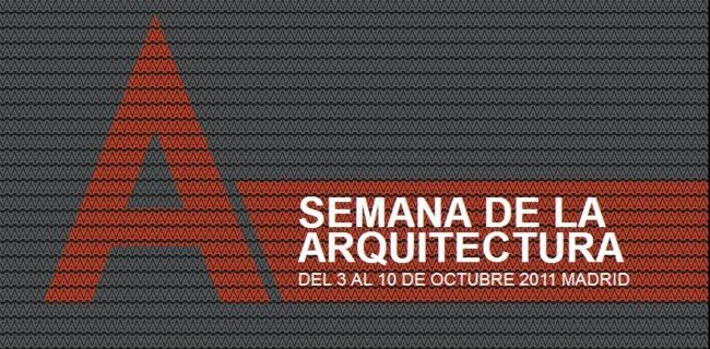 logo de la semana de la arquitectura madrid 2011