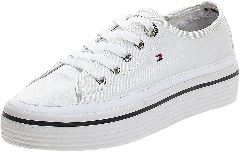 Tommy Hilfiger Corporate Flatform Sneaker, Zapatillas Mujer