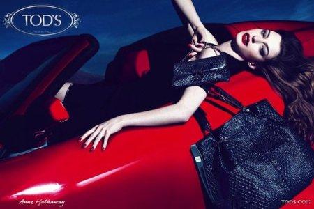 Tod´s campaña Otoño-Invierno 2011/2012: Anne Hathaway y el triunfo de las pieles