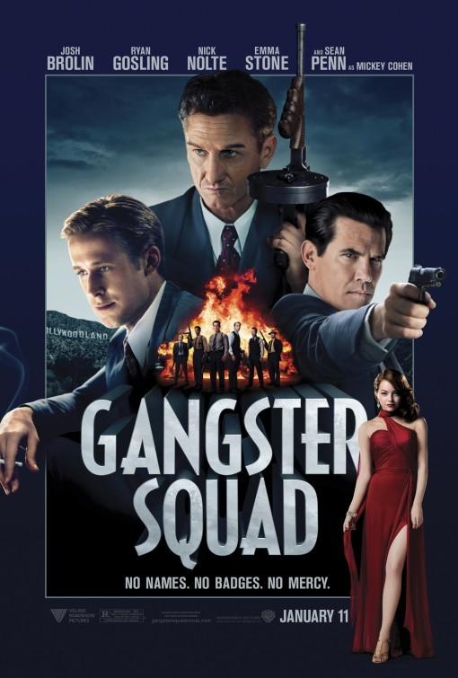 Foto de 'Gangster Squad (Brigada de élite)', los carteles (8/18)