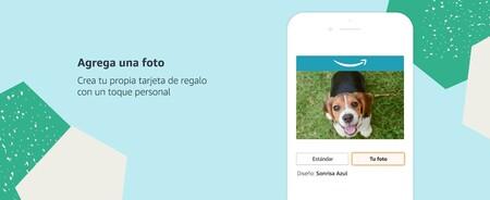 Personaliza tu tarjeta de regalo digital de Amazon México