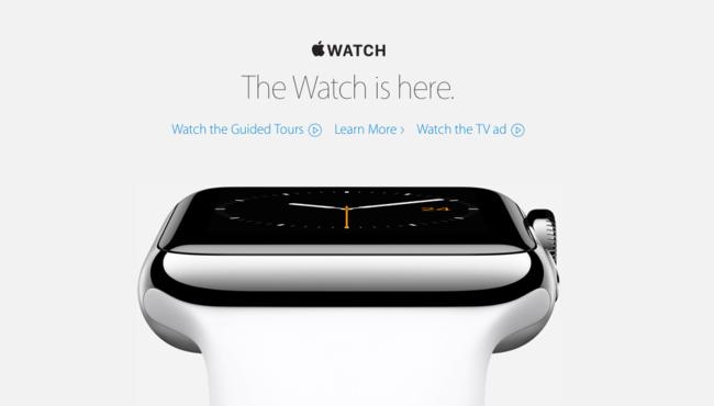 El Apple Watch ya está aquí