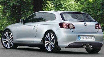 Volkswagen Scirocco, nueva imagen por ordenador