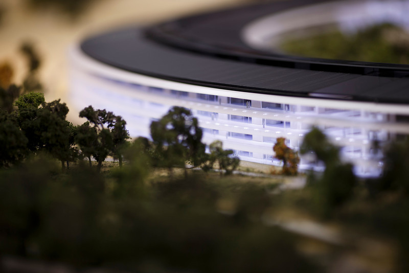 Foto de Maqueta del Campus 2 de Apple (4/22)