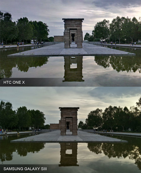 Comparativa HDR Android