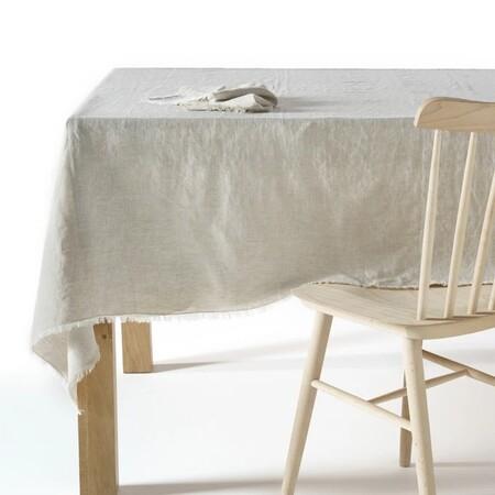 mantel lino lavado